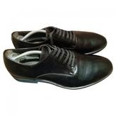 Fendi Patent leather derbies