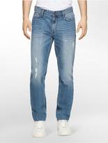 Calvin Klein Slim Straight Leg Essential Blue Wash Jeans