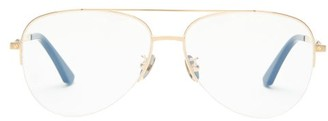 Cartier Aviator Titanium Glasses - Gold