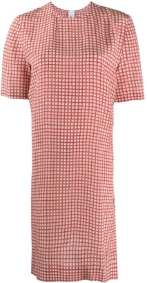 Marni Checked Shift Dress