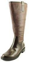 David Tate Quest Wide Calf Round Toe Synthetic Knee High Boot.
