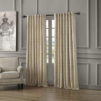 """Waterford Renly Back Tab/Rod Pocket Curtain Panel, 54"""" x 84"""""""