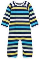 Toobydoo Baxley Striped Footie (Baby Boys)