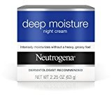 Neutrogena Deep Moisture Night cream, 2.25 Ounce (Pack of 3)