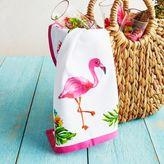 """Sur La Table Flamingo Kitchen Towel, 28"""" x 18"""""""