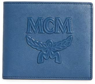 MCM Mini Coburg Injection Flap Wallet