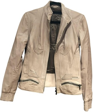 Sophia Kokosalaki Pink Leather Leather Jacket for Women