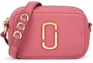 Marc Jacobs The Softshot 17 Pink Leather Cross-body Bag