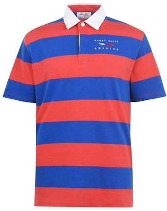 Perry Ellis Perry Rugby Short Sleeve Polo Shirt