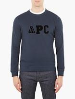 A.P.C. Blue Logo Sweatshirt