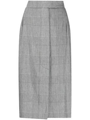 Vivienne Westwood checked pencil skirt