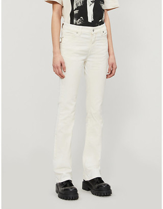 Zadig & Voltaire Eclipse flared mid-rise jeans