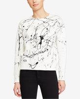 Polo Ralph Lauren Paint-Splattered Fleece Pullover