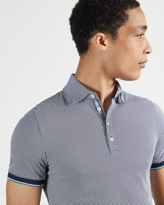 Ted Baker LOCKA Dotted polo shirt