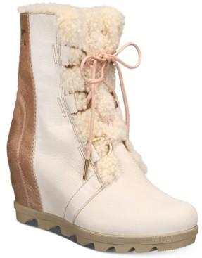 Sorel Women's Joan Of Arctic Wedge Ii Lux Booties Women's Shoes