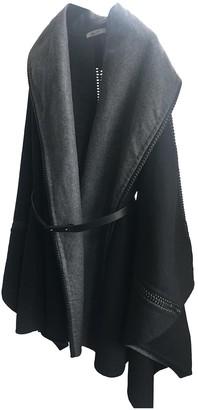 Bally Black Wool Coat for Women
