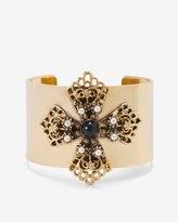 White House Black Market Maltese Cross Cuff Bracelet