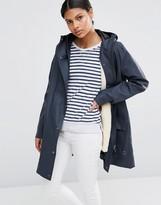 Hunter Rubberised Fishing Raincoat with Fleece Lining