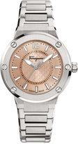 Salvatore Ferragamo Women's Swiss F-80 Stainless Steel Bracelet Watch 33mm FIG03 0015
