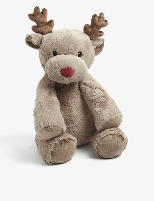 The Little White Company Jingles reindeer soft toy 30cm