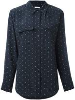 Equipment dot print shirt