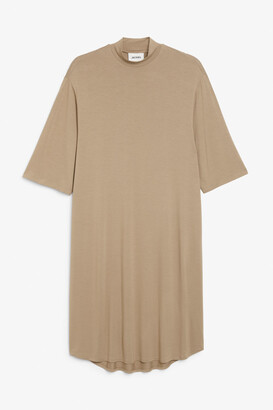 Monki Midi turtleneck dress