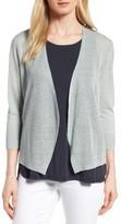 Nic+Zoe Women's All Day Linen Blend Cardigan