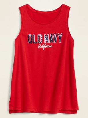 Old Navy EveryWear Americana Logo-Graphic Tank Top for Women