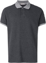 Moncler contrast polo shirt - men - Cotton - XL