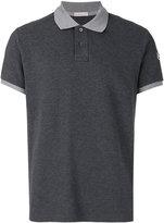 Moncler contrast polo shirt - men - Cotton - XXL