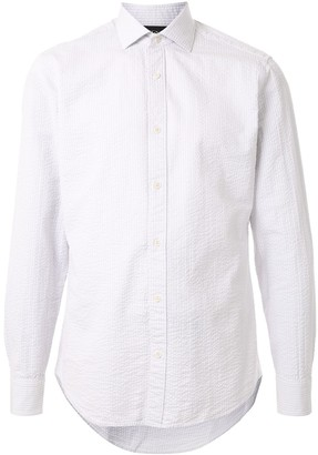 Ermenegildo Zegna Striped Regular-Fit Linen Shirt
