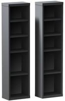 "Zipcode Design Elma Multimedia Storage 38"" Standard Bookcase"