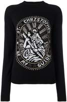 Christopher Kane Saint Christopher sweatshirt