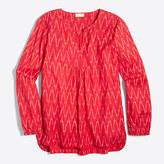 J.Crew Factory Ikat blouse