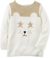 Carter's Bear Sweater Tunic, Toddler Girls (2T-4T)
