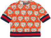 Gucci Baby heart icons print sweatshirt