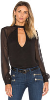 Tularosa Evie Blouse in Black. - size S (also in XS)