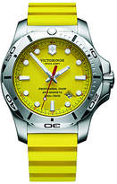 Victorinox 241735 I.n.o.x Diver Rubber Strap Watch, Yellow