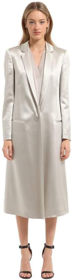 Calvin Klein Collection Fluid Satin Light Coat