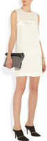 See by Chloe Annette nubuck and textured-leather clutch