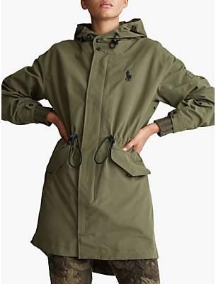 Ralph Lauren Polo Newport Windbreaker Jacket, Expedition Olive