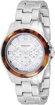 Vernier Women's VNR11079SS Glitter Sunray Dial Bracelet Quartz Watch