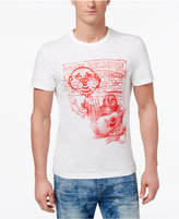 True Religion Men's Buddah Graphic T-Shirt