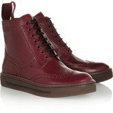 Marc by Marc Jacobs Lace-up leather ankle boots