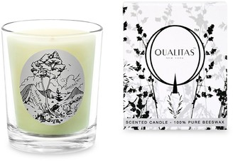 Qualitas Candles Amber Patchouli Scented Beeswax Candle