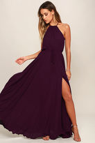 LuLu*s Essence of Style Forest Green Maxi Dress