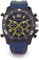 Perry Ellis Navy Silicone Watch