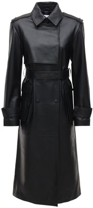 REMAIN Pirello Leather Trench Coat