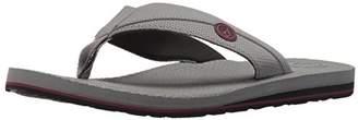 Volcom Men's Lounger Memory Foam flip Flop Sandal
