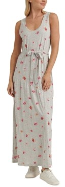Lucky Brand Eliza Floral-Print Maxi Dress